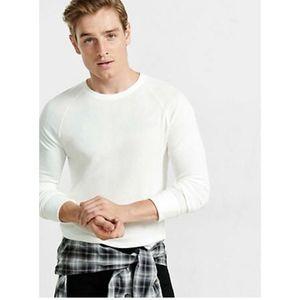 Men's Express Soft Waffle Knit Crew Neck Tee